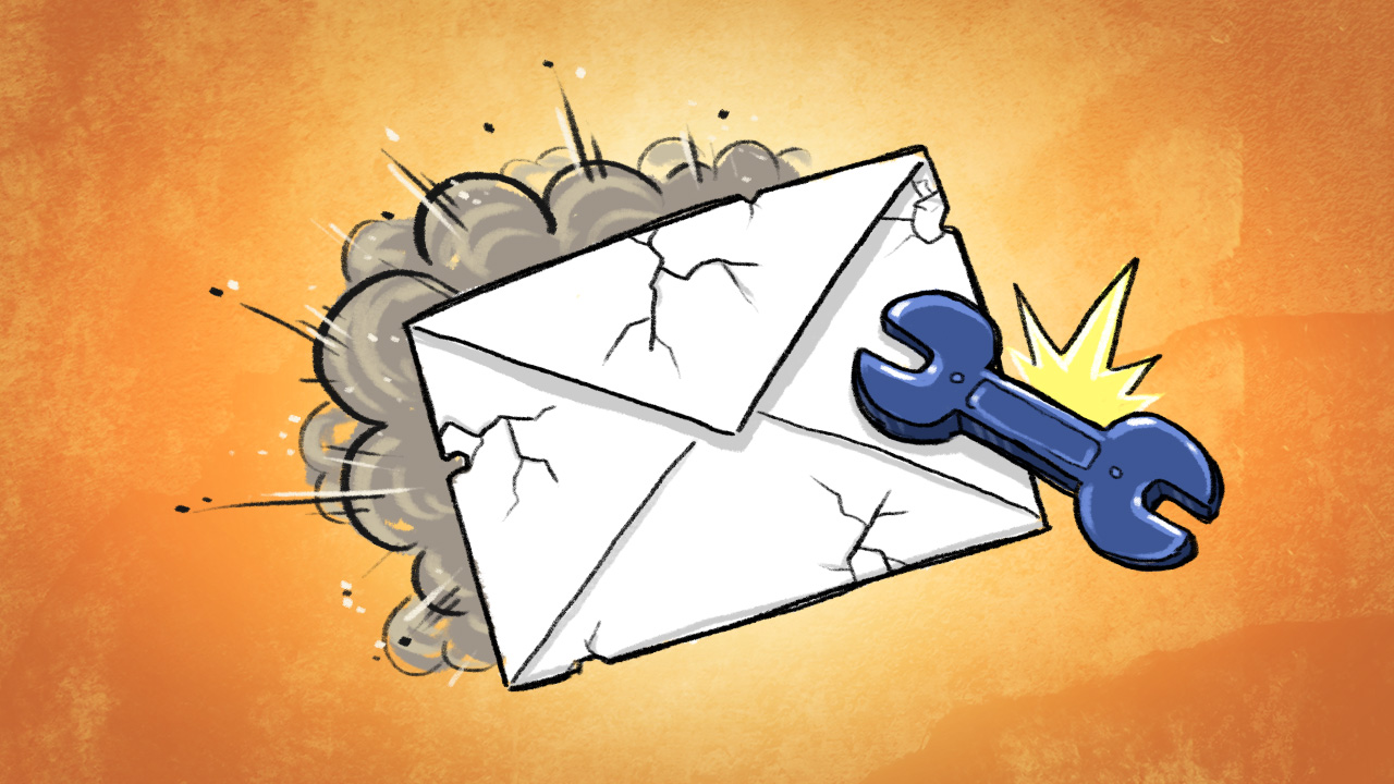 broken contactform mail